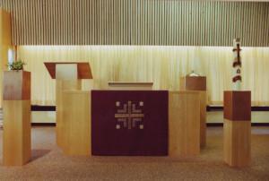 meubels opdracht, liturgische eenheid